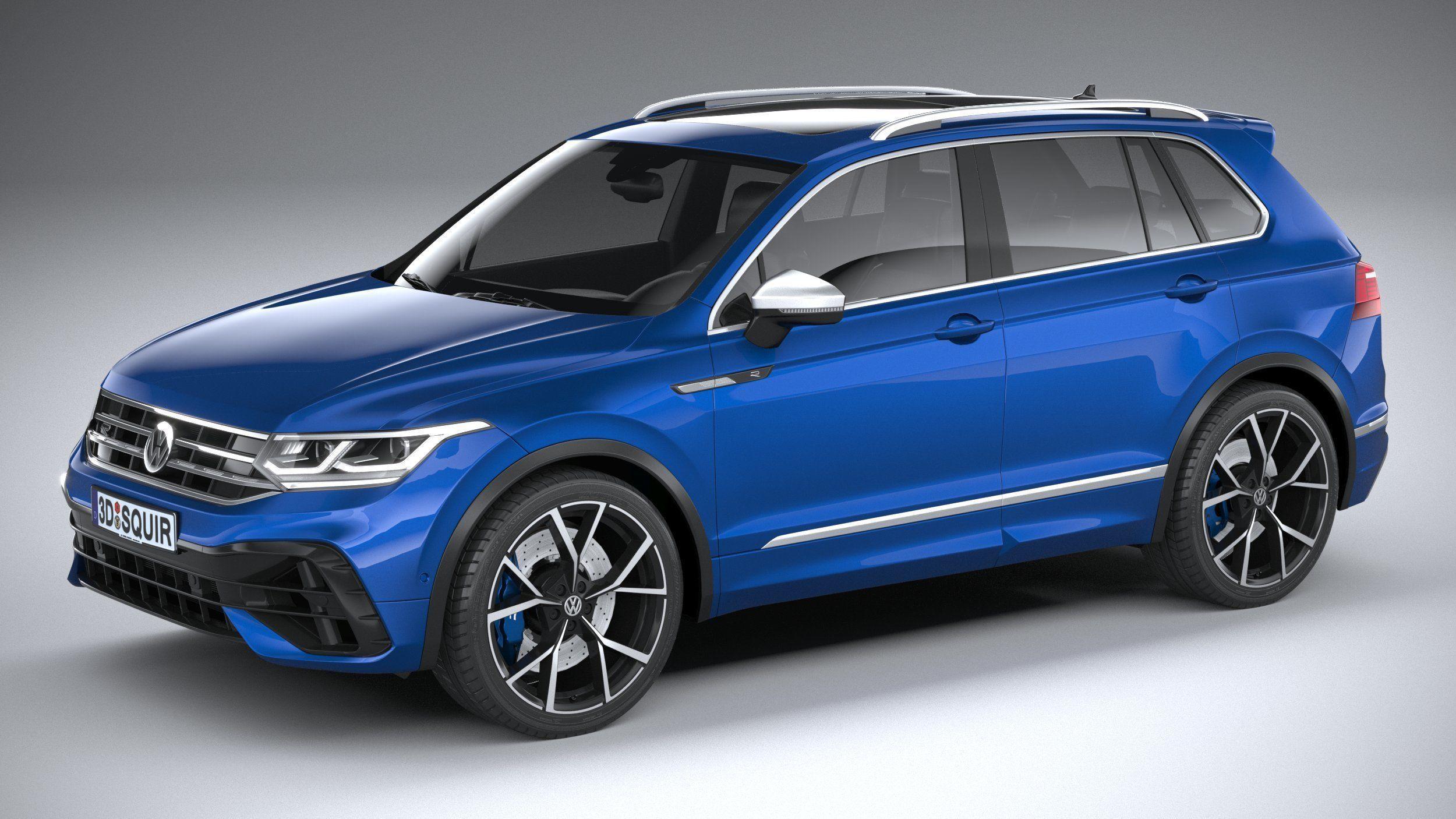 Volkswagen Tiguan R 2021 3D model   CGTrader
