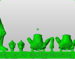 28 mm sci-fi knight 3d print model