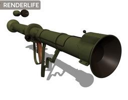 M20 Super Bazooka 3D