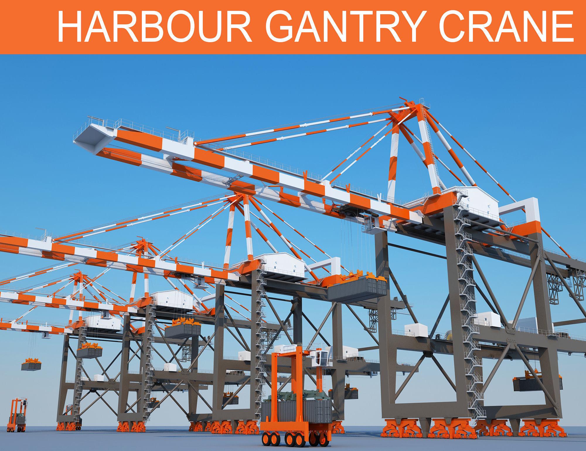 Harbour Cargo Crane