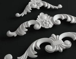 Gaudi decor 3D model