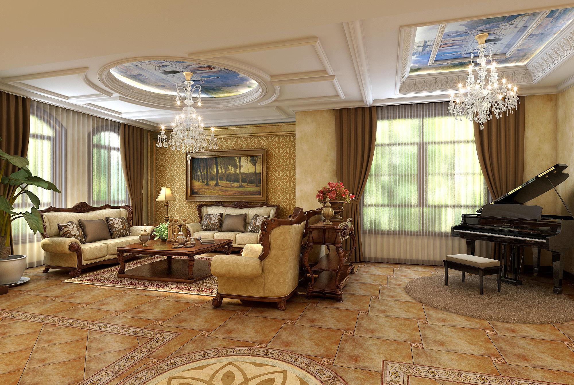 cozy living room 3d model max cozy living room 3d model max 1