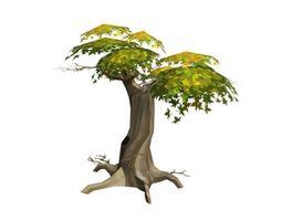Tree Low poly 3D asset