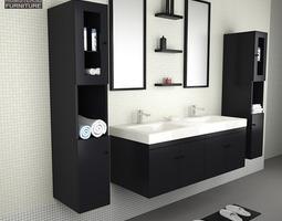 Vr Ar Low Poly Bathroom 3d Models Get 3d Bathroom Model Model For Virtual Reality Project