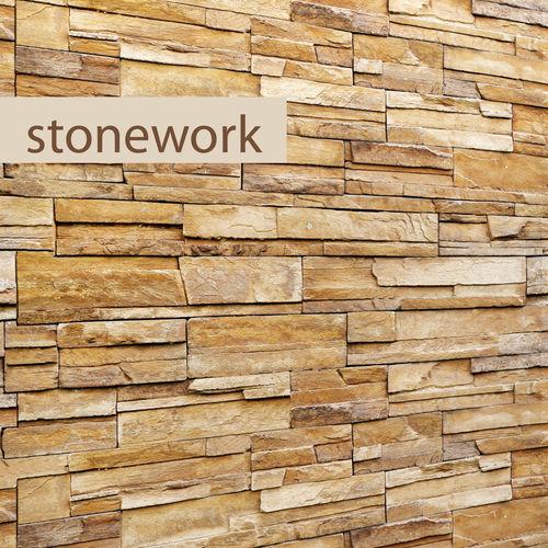 stone wall slate 3d model max obj mtl fbx 1