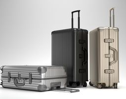 rimowa topas multiwheel trolley bag 3d