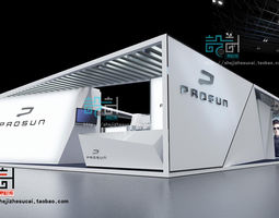 exhibition booth 82 3d