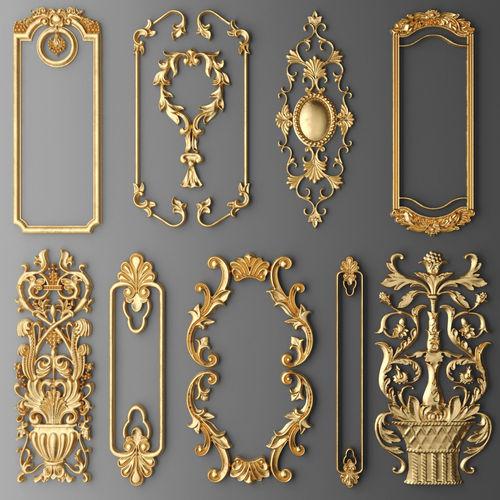 Home Design 3d Gold Import: 3D Model Frame Molding Set
