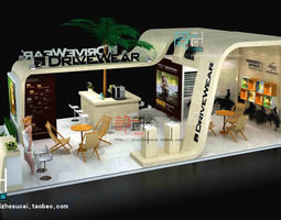 3d exhibition booth 42