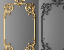 frame molding 1 3d model