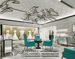 3d detailed architectural interior  69