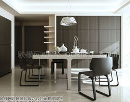 3d model detailed architectural interior 86
