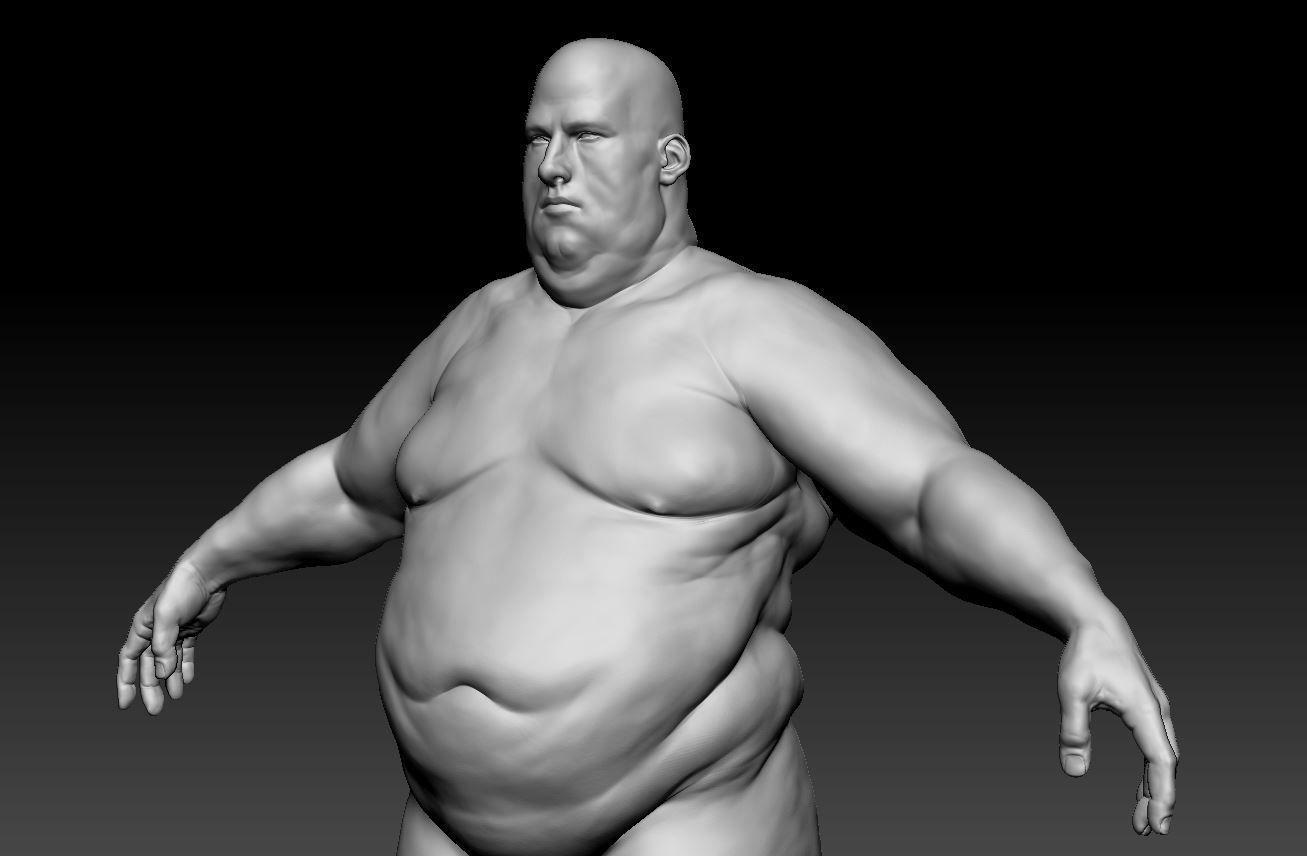 Male body 10
