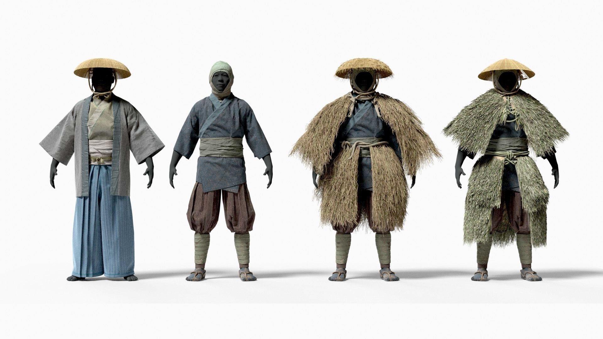 MEDIEVAL Japanese People