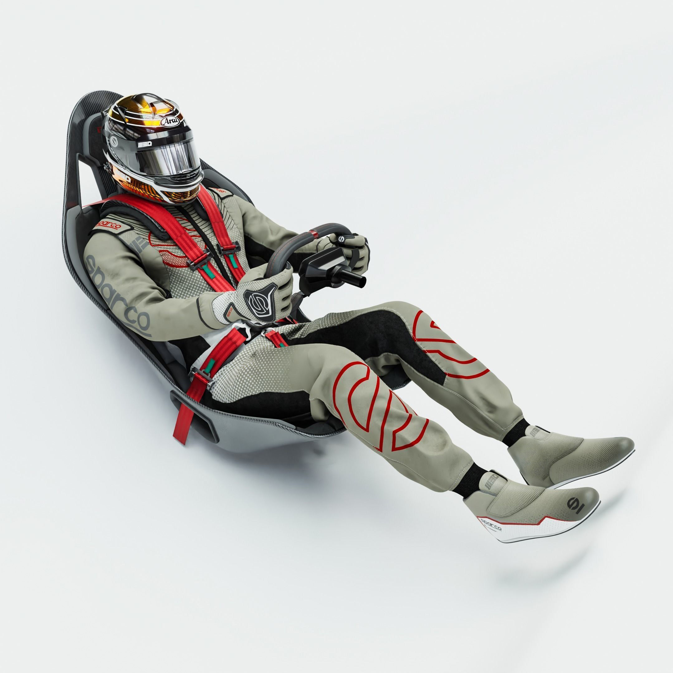High Quality Race Driver Suit