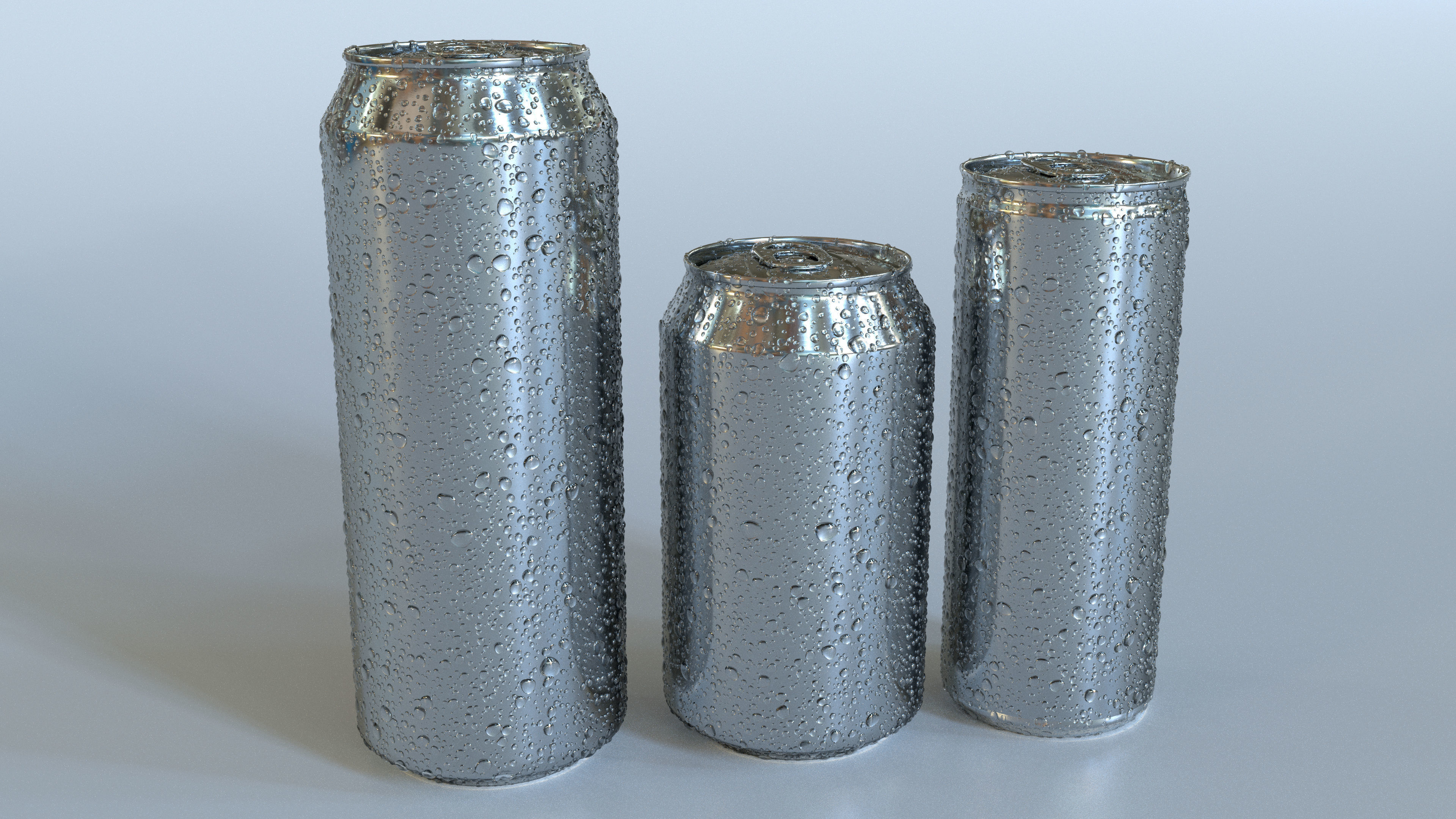 3D Beverage Can Wet - 3DS Max and CORONA RENDER