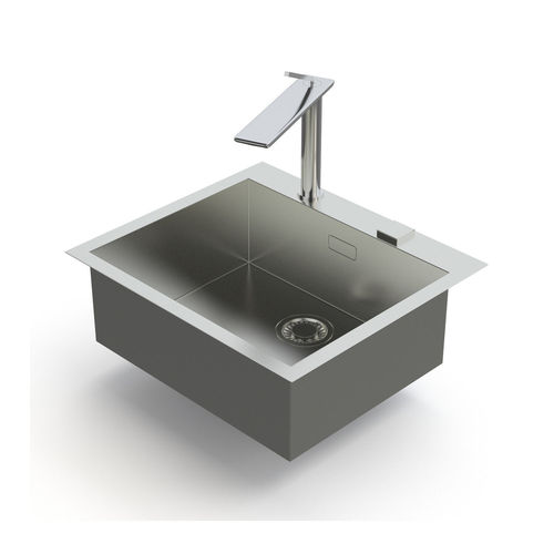 franke sink and tap planar and dflux 3d model