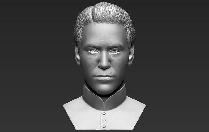 Neo Keanu Reeves from Matrix bust 3D printing ready stl obj
