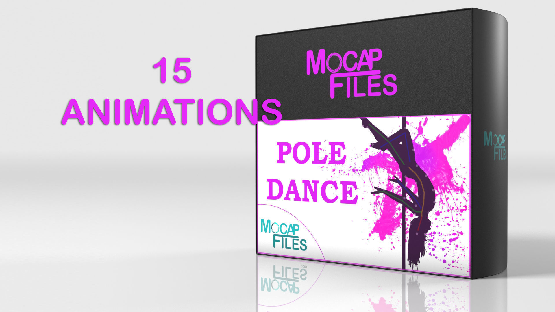 Pole Dance - motion capture animations- Bundle