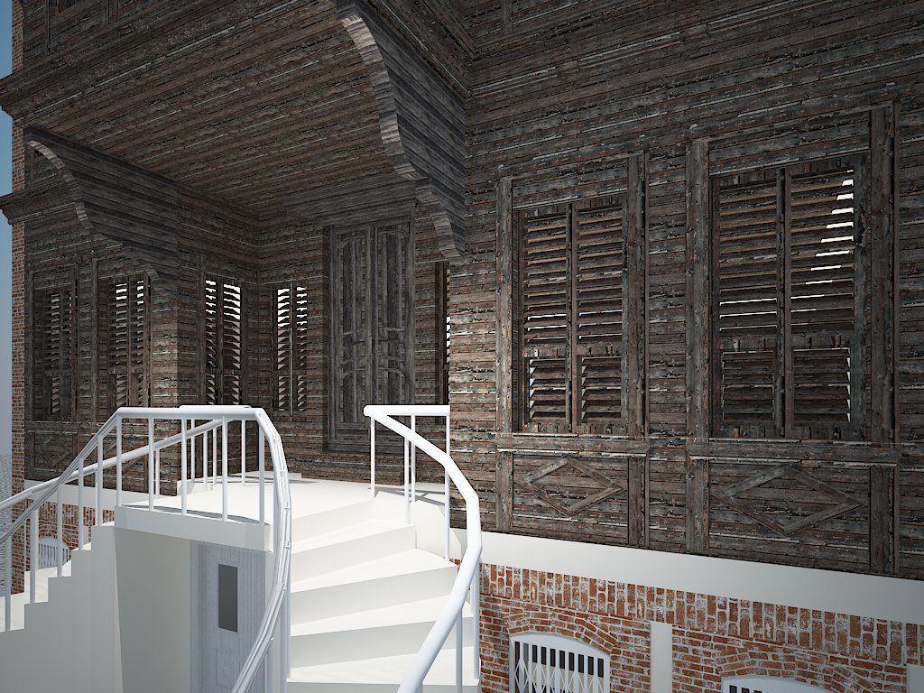 3D ARCHITECTURAL PAVILION DESIGN