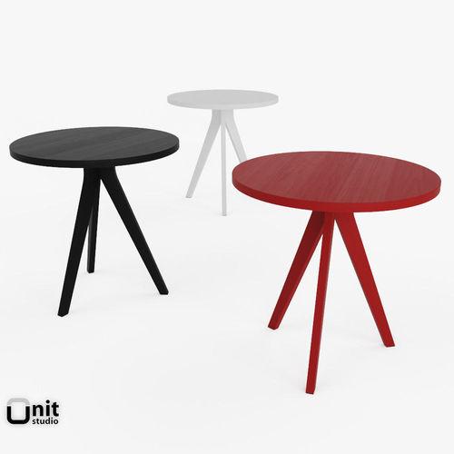 Tripod Table By West Elm 3d Model Max Obj Mtl 3ds Fbx Dwg Unitypackage Prefab 1