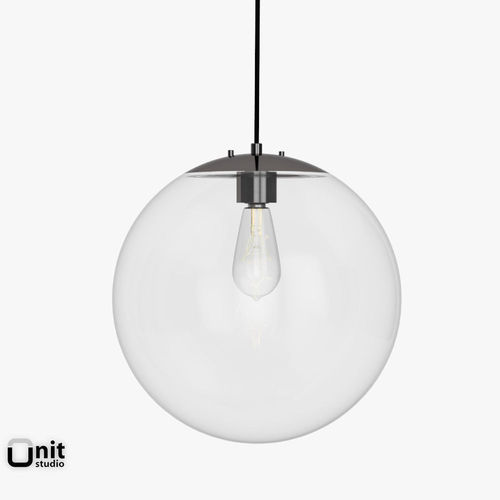 globe pendant lamp. globe pendant lamp by west elm 3d model max obj 3ds fbx dwg 3