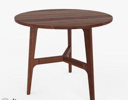 3D model Bistro Table Auburn by West Elm