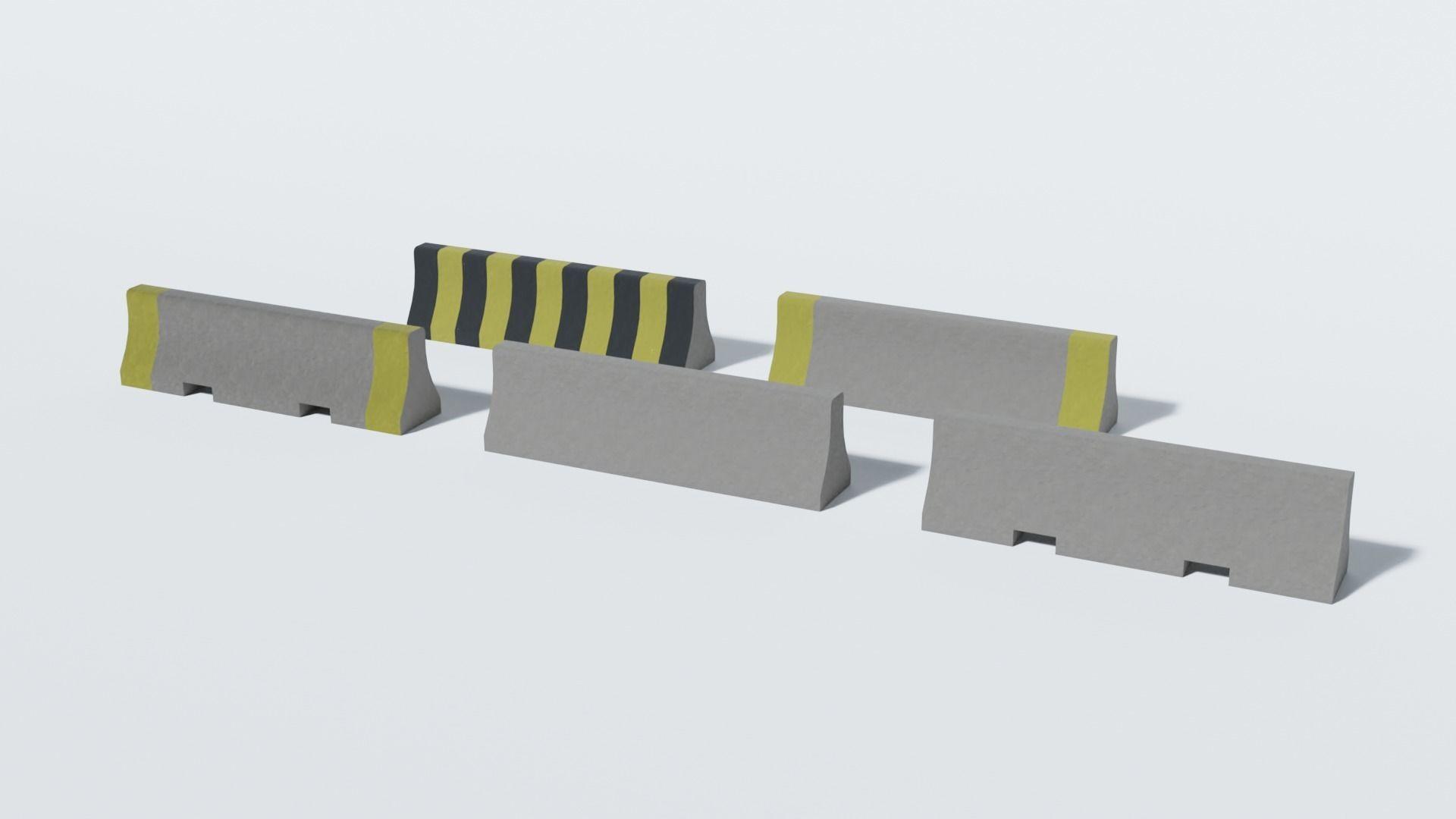 Concrete Barrier Collection