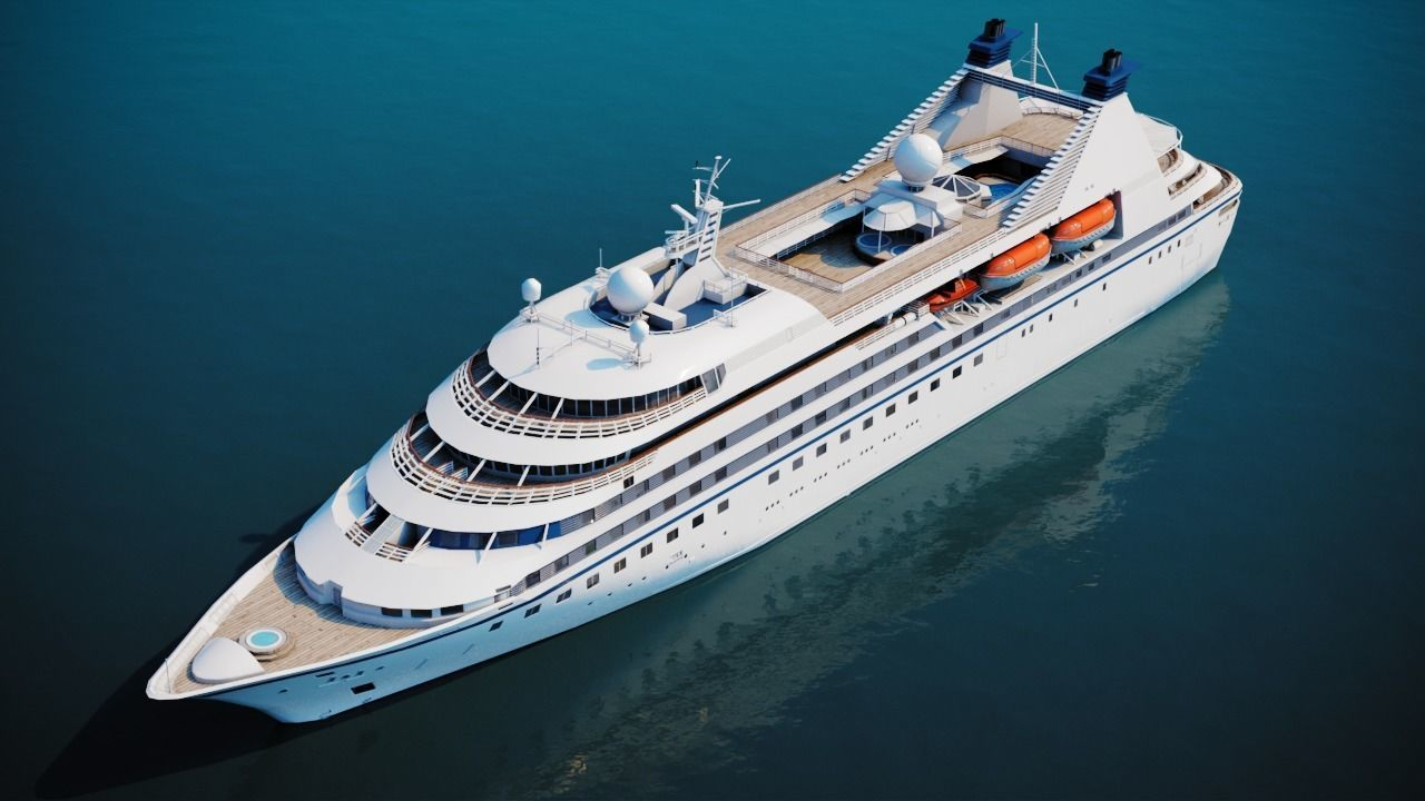 Luxury Cruiseship