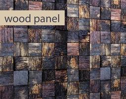 3D wood wall 1