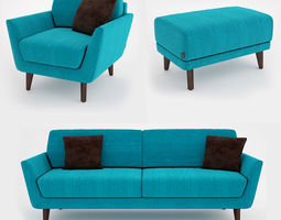 3D Sits Rucola Sofa Collection