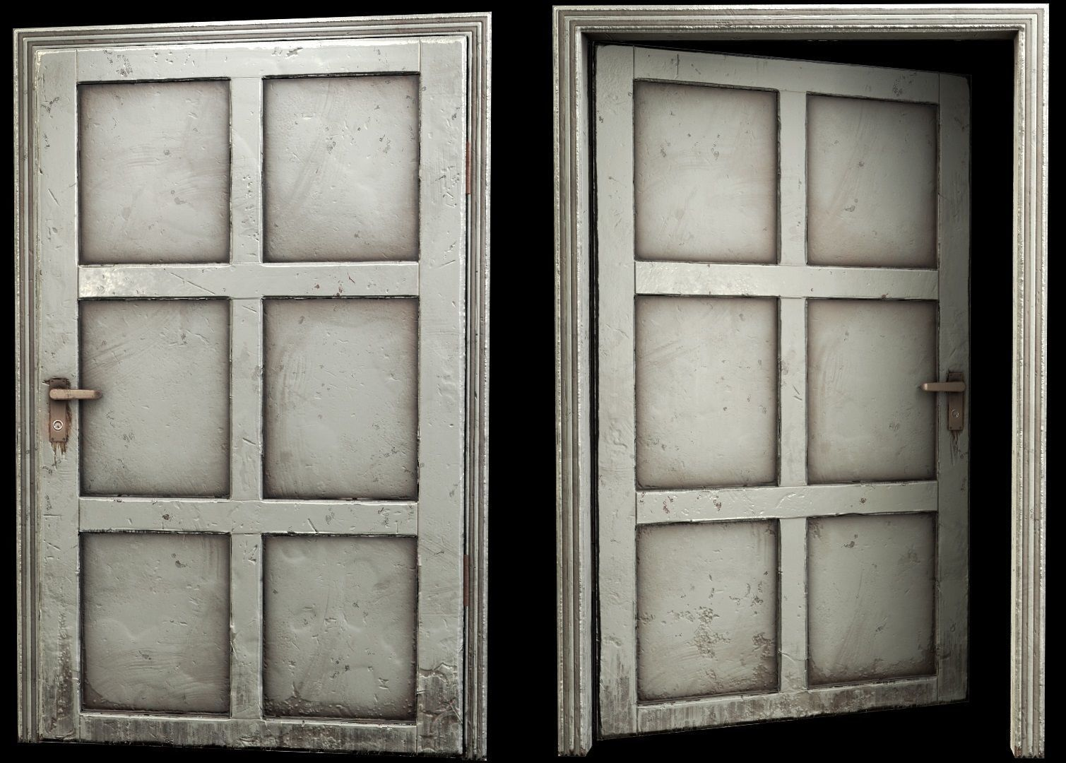 wooden Door - B type