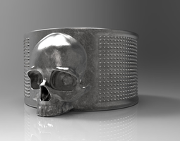 Ring Skulls 3D printable model