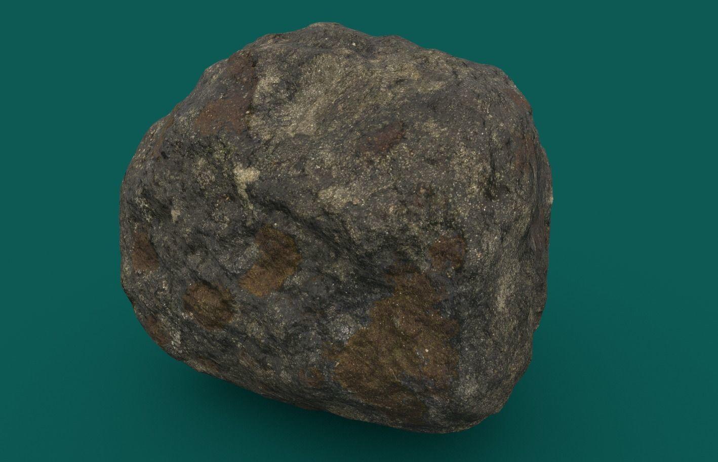 Mossy Rock 2 PBR
