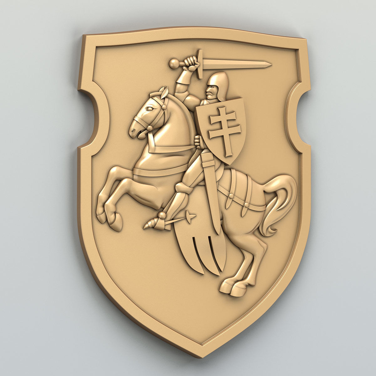 Coat of arms of Belarus Pogonya - type B