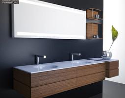 Bathroom Furniture 10 Set 3D asset