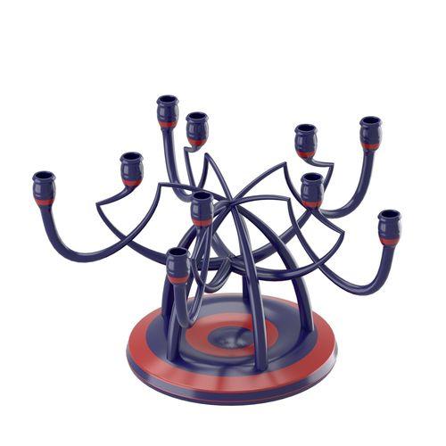 candleholder with angled shapes 3d model obj fbx stl blend dae 1
