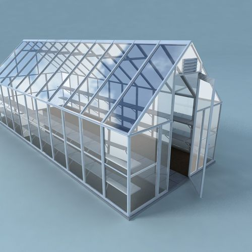 3d model greenhouse warm cgtrader for Exterior 3ds max model