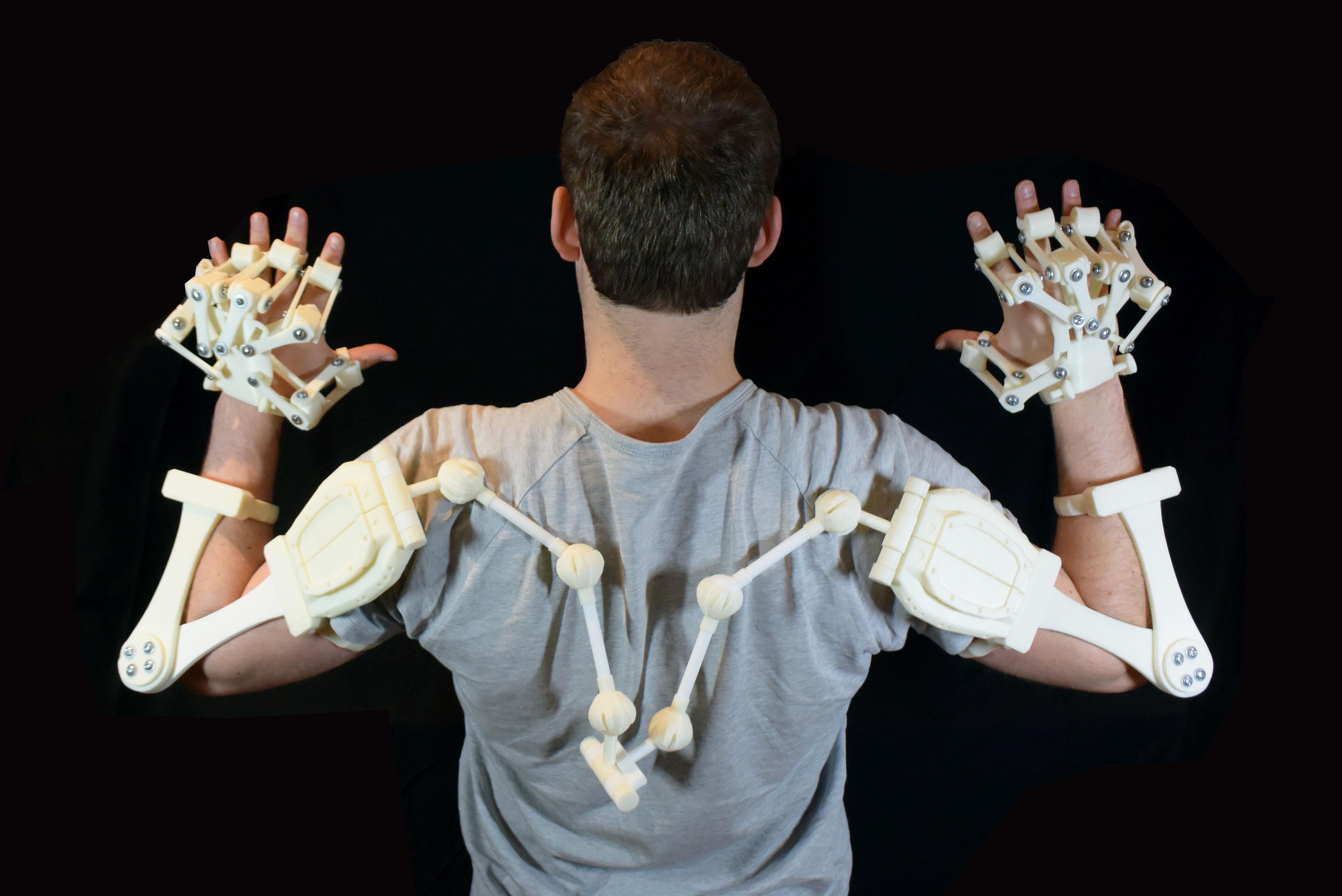 3D Printed Exoskeleton Arms 3D Model 3D printable STL ...