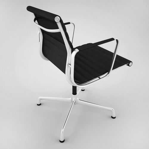 vitra aluminium chair ea 108 3d model max obj fbx 5 aluminium chair ea 108