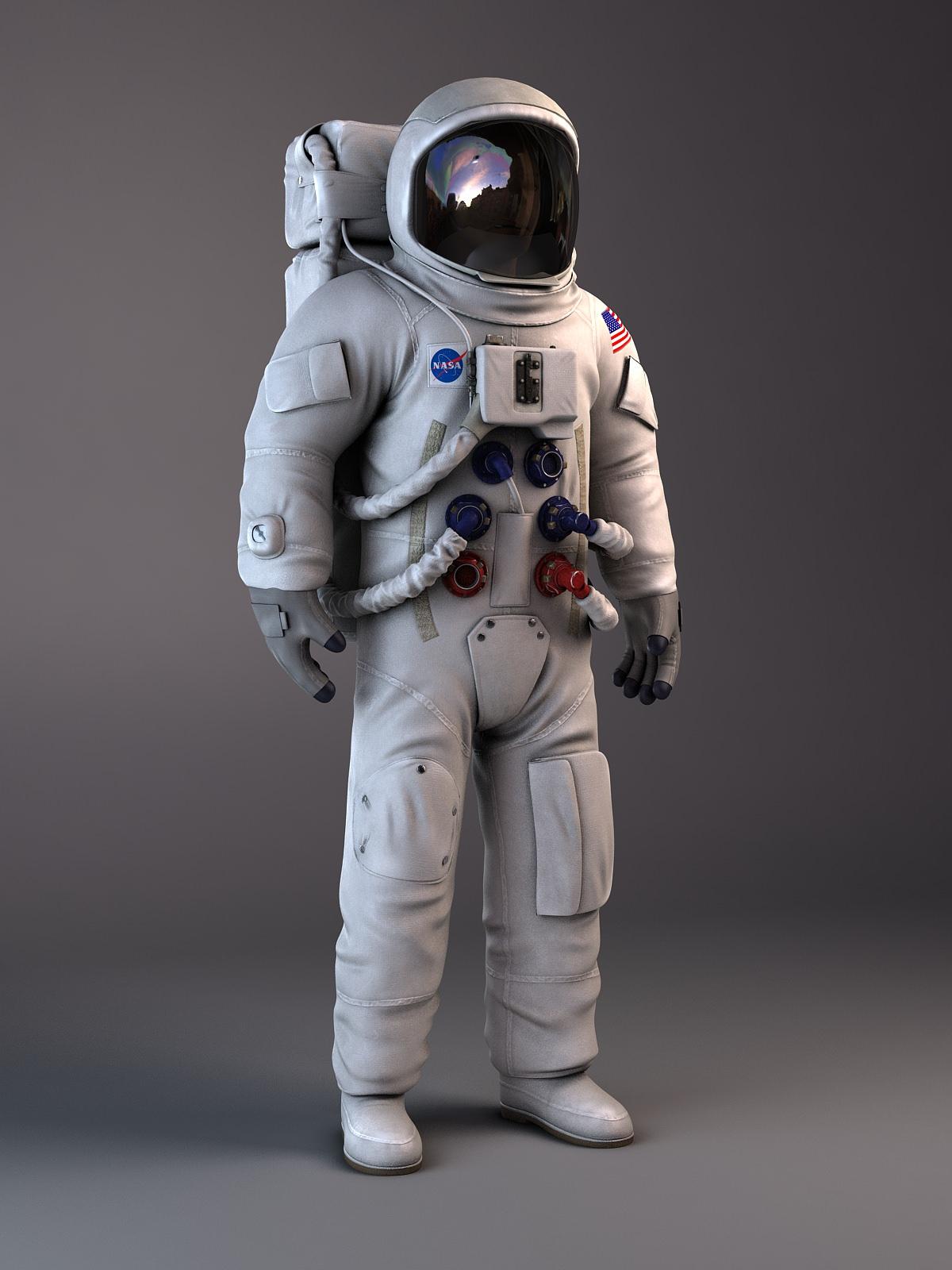NASA Astronaut Apollo