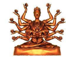 3D printable model India Buddha
