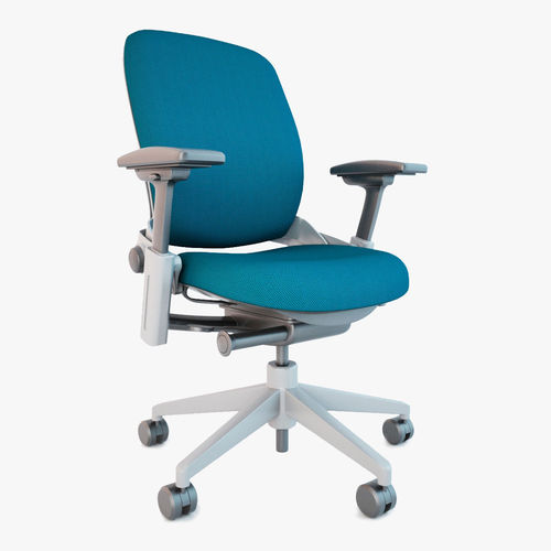 Steelcase leap office chair 3d model cgtrader - Steelcase leap ergonomic office chair ...