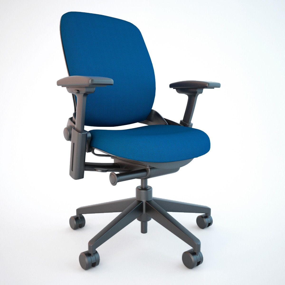 ... Steelcase Leap Office Chair 3d Model Max Obj Fbx 10 ...