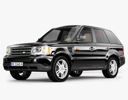 Range Rover SUV 3D model