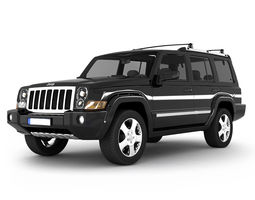 3D model Jeep Commander SUV