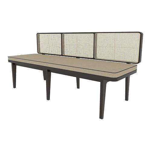 Long Sofa Rattan ids94