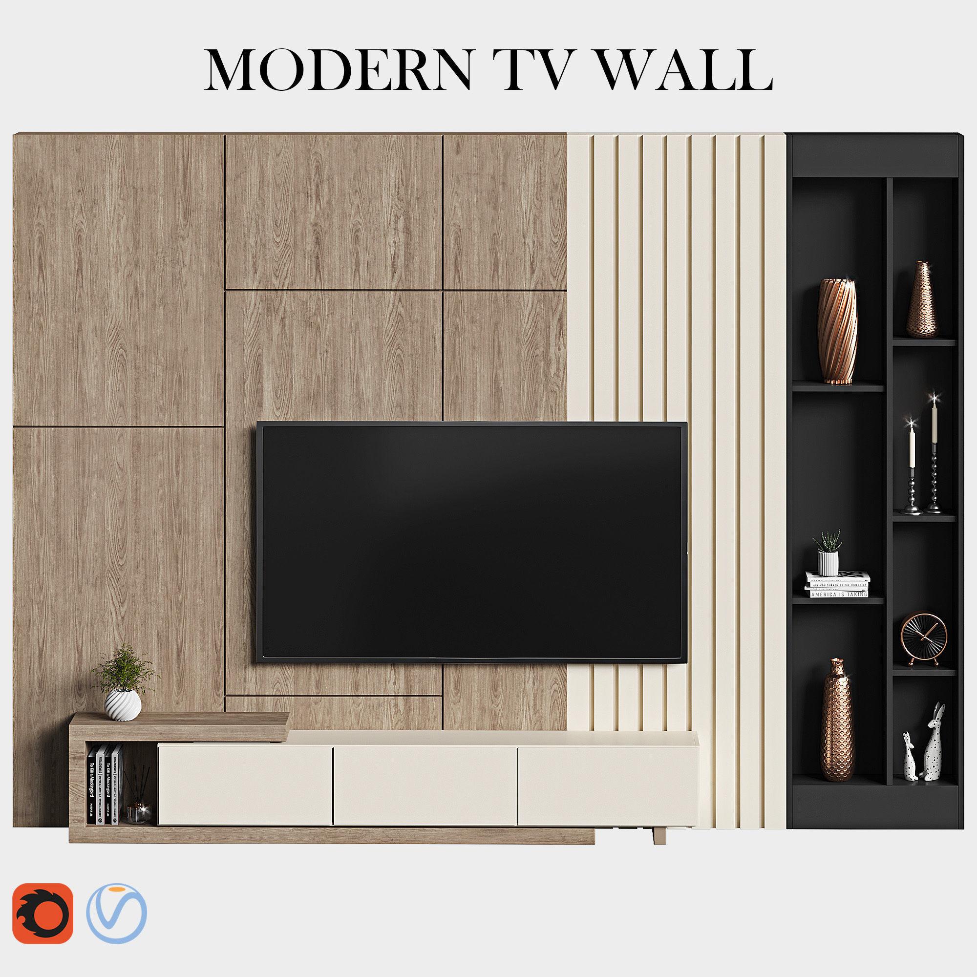 modern tv wall 11