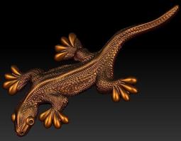 3d printable model lizard