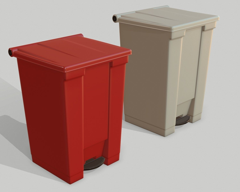 Waste Can Bio Hazardous medical bin